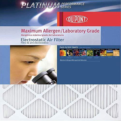 DuPont Platinum Max Allergen Air Filter, 16x20x1, MERV 12, 4-Pack