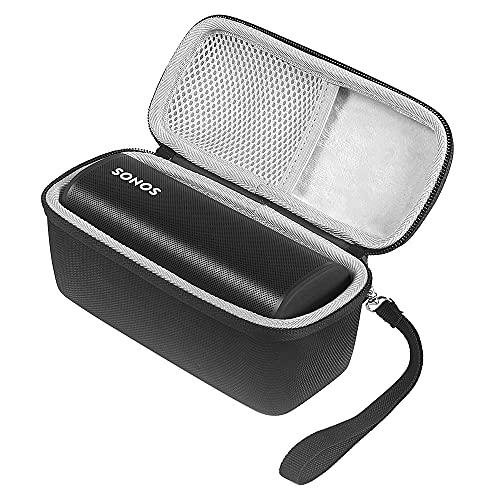 Harde Draagtas Compatibel met Sonos Roam Draagbare Slimme Luidspreker,Beschermhoes voor Sonos Roam-Luidspreker…