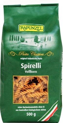 Rapunzel Spirelli Vollkorn, 6er Pack (6 x 500 g) - Bio