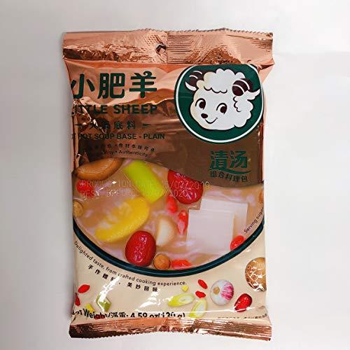 小肥羊清湯火鍋底料 鍋の素(清湯) シャオフエヤン 中華名物 鍋料理 130g