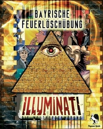 Pegasus Spiele 53020G - Illuminati Bayrische Feuerlöschübung