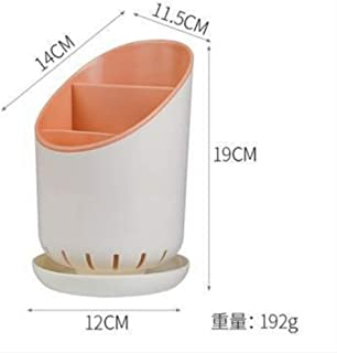 qwess Boîte De Rangement Multifonctionnelle De Cuisine De Vidange en Plastique De Support De Vaisselle Poudre