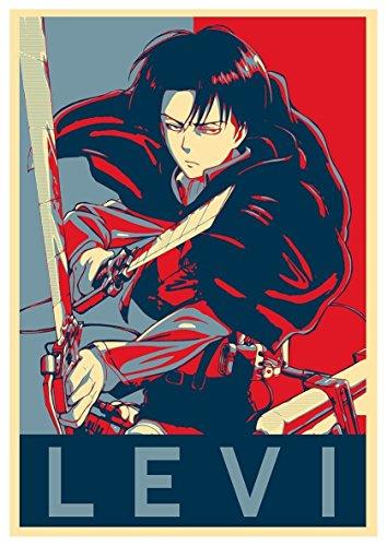 Instabuy Poster Attack on Titan Propaganda Levi - A3 (42x30 cm)
