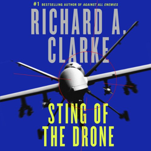 Sting of the Drone audiobook cover art