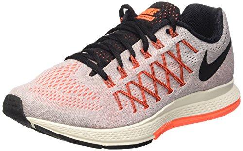 Nike Wmns Air Zoom Pegasus 32, Zapatillas de Running para Mujer, Morado (Violet Ash/Black-Hyper Orange), 36 1/2 EU