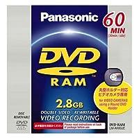 パナソニック DVDビデオカメラ用DVD-RAMディスク(8cm) LM-AK60JE
