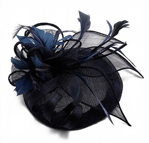 MJY Hat-Ms. Tocado de otoño e invierno Boda Fotografía de la boda...