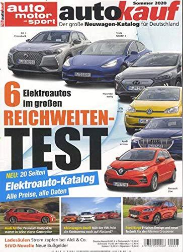 auto motor sport Autokauf 3/2020