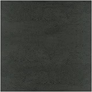 American Olean Tile TH991224 Theoretical Abstract Black Tile, 12