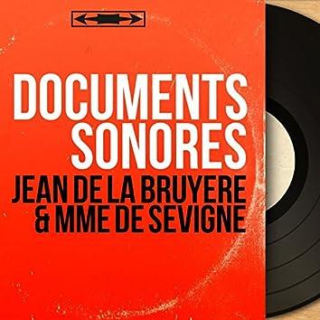 Jean de La Bruyère & Mme de Sévigné (Mono Version)