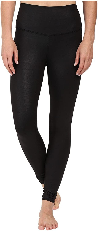 ALO Womens High Waist Airbrushed Leggings