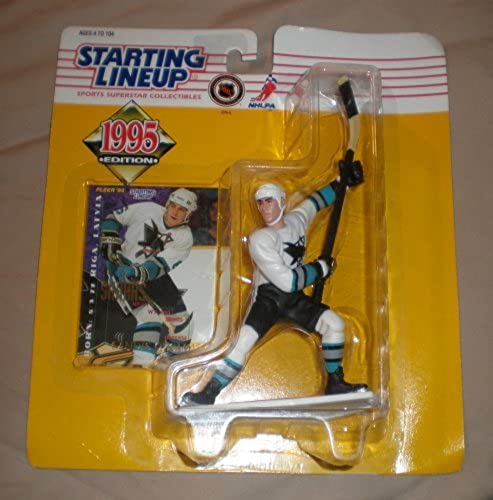 1995 Sandis Ozolinsh NHL Starting Lineup Figure by Starting Line Up