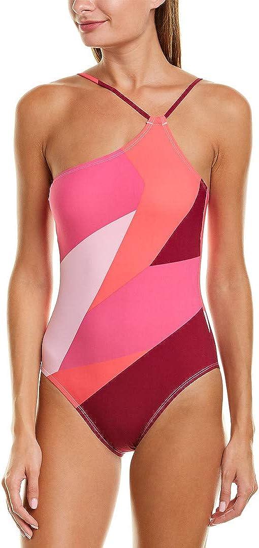 La Blanca Women's Shoulder One Piece Swimsuit