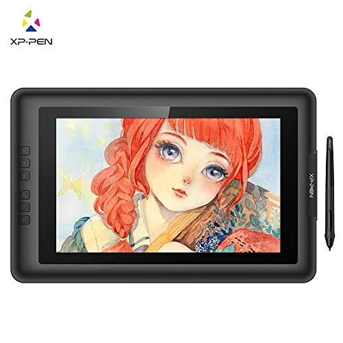 XP-Pen Artist13.3 V2 IPS 13.3-Inch Drawing Monitor Pen Display Graphics Drawing Monitor with HDMI to Mac Cable and Anti-fouling Glove (8192 Level Pen Pressure)