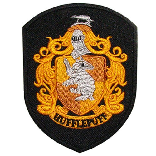 Buy Discount Harry Potter House of Hufflepuff Crest Jacket Suit Movie Magic Embroidered Iron on Patc...