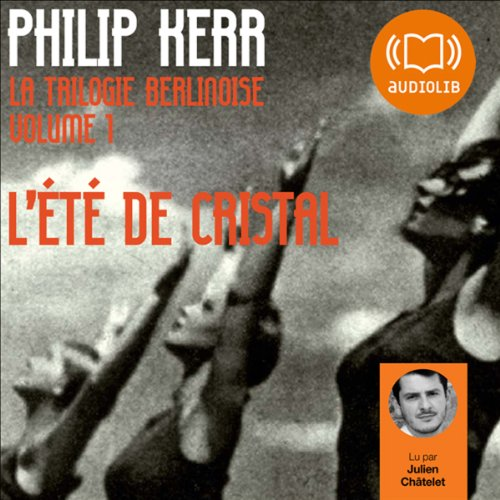 L'été de cristal audiobook cover art
