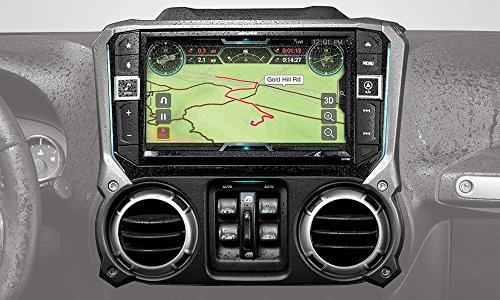 Alpine Electronics X209-WRA-OR 9' Restyle Navigation System with Off-Road Mode & Apple CarPlay & Android Auto for The Jeep Wrangler (2011-2018)
