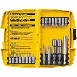 DEWALT DW2161 Screwdriving and Nutdriving Set in Plastic Case, 21-Piece (B00004RH2C) | Amazon price tracker / tracking, Amazon price history charts, Amazon price watches, Amazon price drop alerts