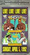 WWF: WrestleMania VIII VHS