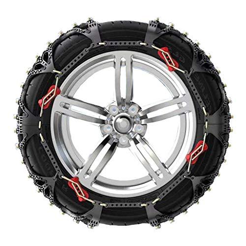 WYJW La Cadena de Nieve es Adecuada para TLX CDX RDX MDX ILX RLX ZDX Cadena de Emergencia de Nieve para neumáticos de automóvil, RDX, 235/60R18