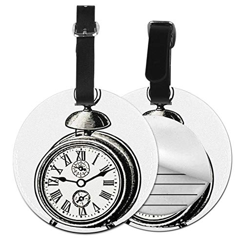 Etiquetas para Equipaje Bolso ID Tag Viaje Bolso De La Maleta Identifier Las Etiquetas Maletas Viaje Luggage ID Tag para Maletas Equipaje Catálogo de Relojes Grabados