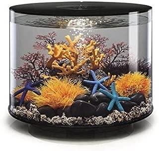 biOrb Tube 35 Aquarium with MCR - 9.2 Gallon, Black