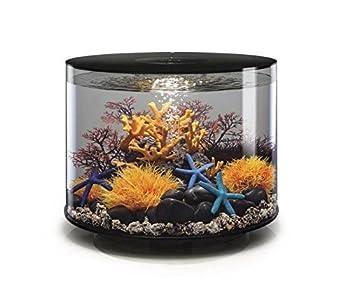biOrb Tube 35 Aquarium with LED - 9.2 Gallon Black