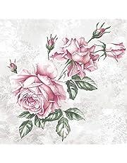 20 servetten Prachtige rozen   Bloemen   Vintage   Decoupage 33x33cm