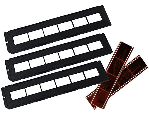Negative Trays Set of 3 - Fits most zonoz, Wolverine Data, Jumbl, Magnasonic, Digitnow, SainSonic & ClearClick 35mm Slide & Negative Scanners