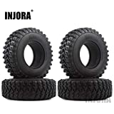 1.9 Voodoo KLR Rubber Tire for 1:10 RC Rock Crawler Axial SCX10 SCX10 III AXI03007 D90 TF2 MST Tamiya