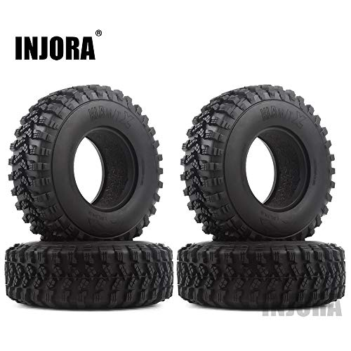 INJORA RC Wheel Tyre 4PCS 1.9 Ru...