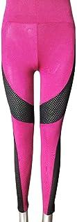 MCYs Leggings patchwork Damen Sport-Leggings Leopard Leggings Hose Strumpfhose Workout Stretch High Elastic Hohe Taille Yoga Hosen