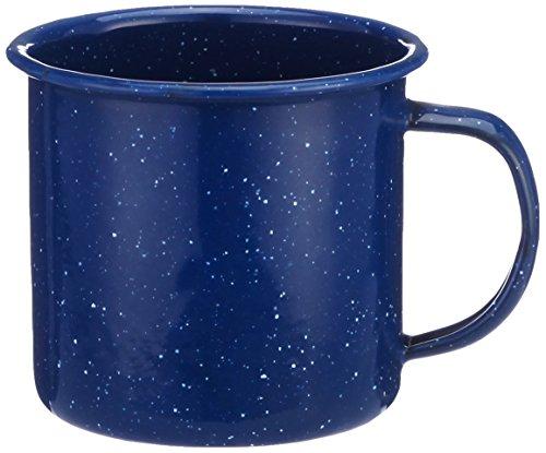Emaille Tasse, blau, 0,35 Liter, Durchmesser 8 cm Preis pro Stück