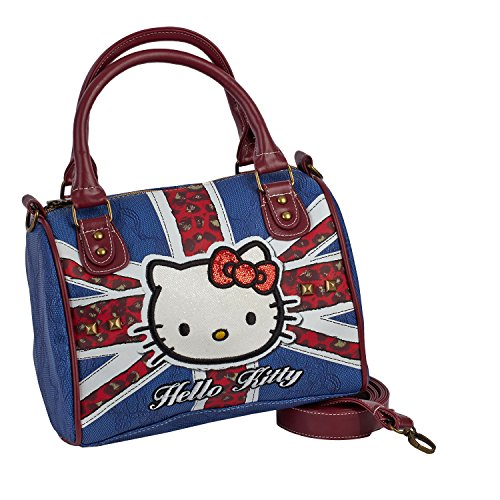 Hello Kitty 45370 Chest (kleine) handtas, blauw