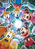 108ピース ジグソーパズル ディズニー ココロをつなごう!! (18.2x25.7cm)