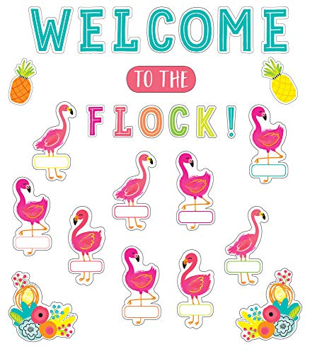 Schoolgirl Style - Simply Stylish Tropical | Welcome to the Flock Bulletin Board Set, 54 Pieces download ebooks PDF Books