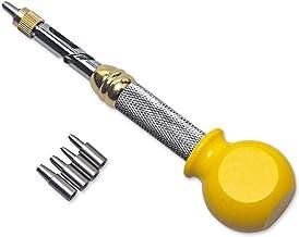 LZHJ Punzón de Correa para cinturón, Herramienta automática de perforación silenciosa, tamaño de perforación 1.0/1.5/2.0/2.5/3.0mm