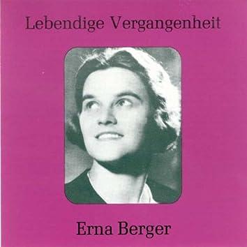 Lebendige Vergangenheit - Erna Berger