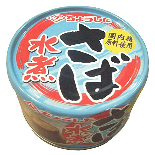 田原缶詰 ちょうした さば水煮 EO缶 150g x 6個