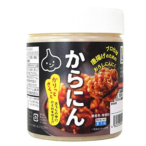 九州ファーム 唐あげのためのおろしにんにく からにん 500g