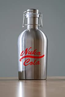 Official Fallout Nuka-Cola 64oz Stainless Steel Growler
