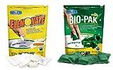 Walex Bio-Pak ELEMBG-BIOPPBG Black Water / Elemonate Gray Water Holding Tank Toilet Treatment Deodorizer Drop Ins Combo Pack