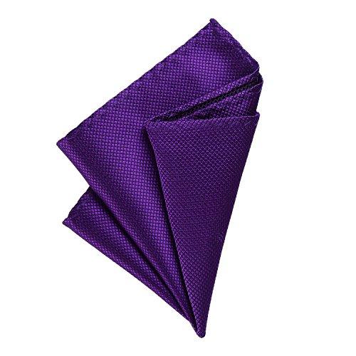 DonDon Pañuelos de bolsillo hombre de 21 x 21 cm para ocasiones especiales