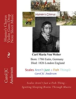 Hunter's Chorus - Violin Gum Drop Note Sheet Music: Scales Aren't Just a Fish Thing - Igniting Sleeping Brains Through Musiic (Sight-reading for Young Musicians) (Volume 3)