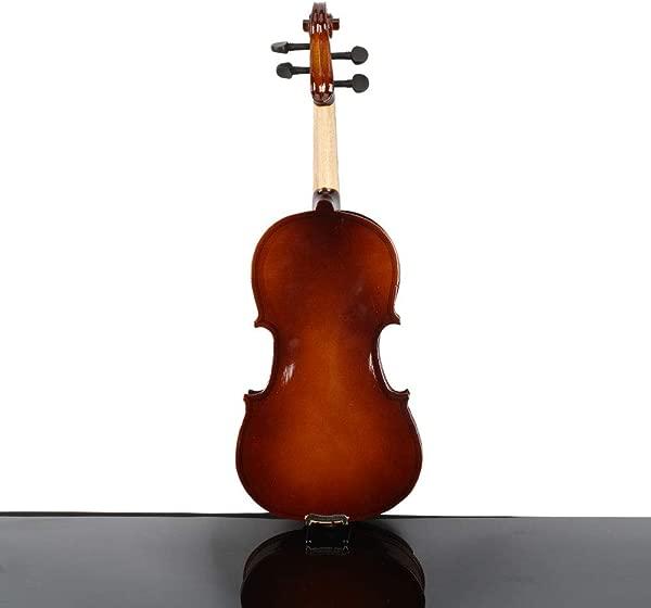 Jskjlkl 1 4 Acoustic Violin Case Bow Rosin Color Burlywood