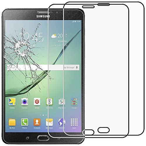 ebestStar - [Pacco x2 Vetro Temperato Compatibile con Samsung Galaxy Tab S2 8.0 SM-T710, SM-T715 Schermo Pacco x2 Pellicole Anti Shock, Anti Rottura Anti graffio [Apparecchio:198.6x134.8x5.6mm 8.0']