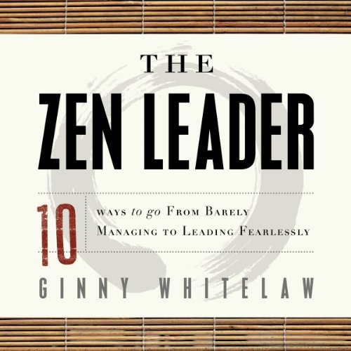 The Zen Leader audiobook cover art
