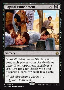 Magic The Gathering - Capital Punishment (040/221) - Conspiracy 2: Take The Crown