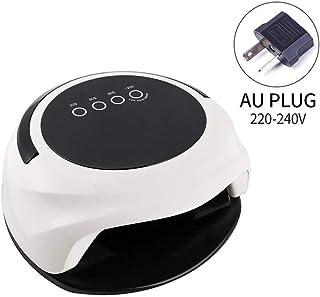 ZNND Inteligente 98W Clavo De La Manija Tipo De Diseño LED UV Lámpara Más Seca Gran Espacio De Uso For Manos Y Pies De Secado Rápido De Uñas Lámparas UV Salon (Size : C)
