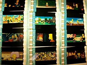 SIMPSONS Lot of 12 35mm Film Cells Collectible Memorabilia Complements Poster Book Theater